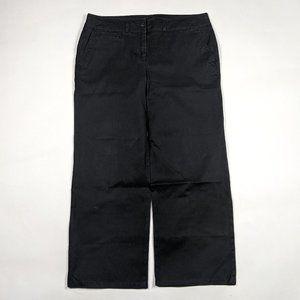 Talbots Signature Slim Size 10 Black Ankle Pants